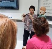 Выставка о клиническом обследовании ВНЧС
