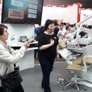Основные методы лечения ДВНЧС - выступление на выставке Dental Salon
